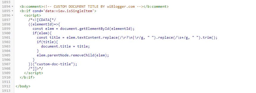 judul postingan blog tidak sama dengan google