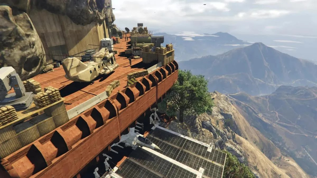 The best mods with new buildings for GTA V and GTA Online: luxury mansions, cyberpunk, military bases and more