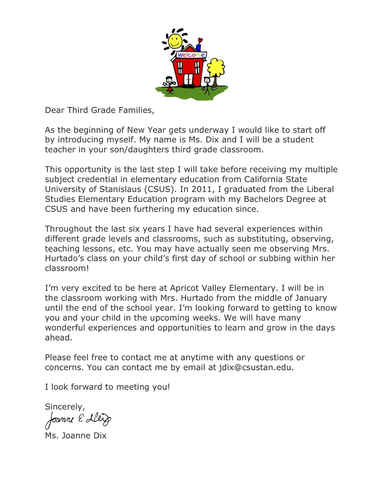 Introduction Letter Teacher Resume. resume cover letters letter of