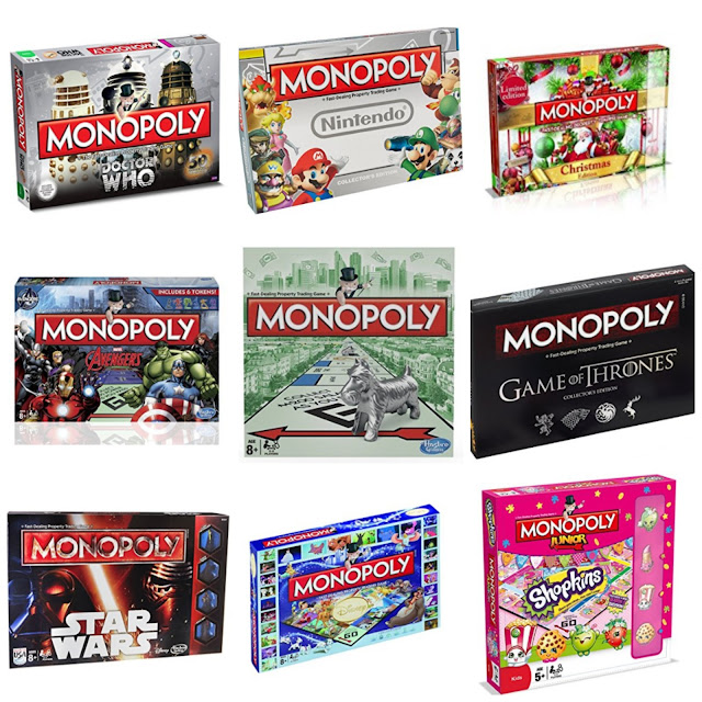 14 versions of Monopoly you need in your life this Christmas
