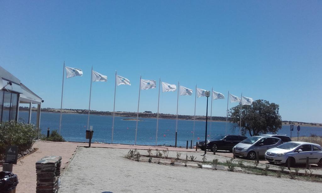 Bandeiras do Clube Náutico de Monsaraz
