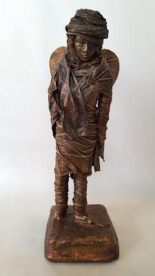 Bronze effect sculpture by Amanda Trought