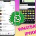 WhatsApp al estilo iPhone