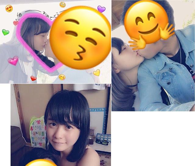 Akun Anonim Twitter Membocorkan Foto Yui Yokoyama AKB48 Kissing Dengan Boyfriend