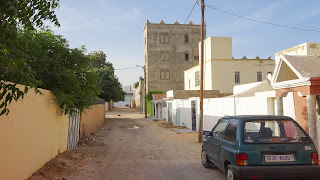Nouakchott Houses in side streets