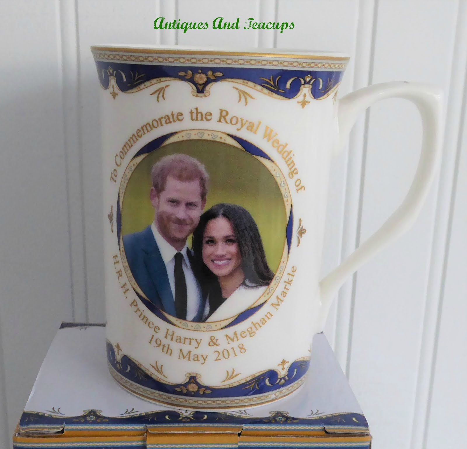 Prince Harry & Meghan wedding mug