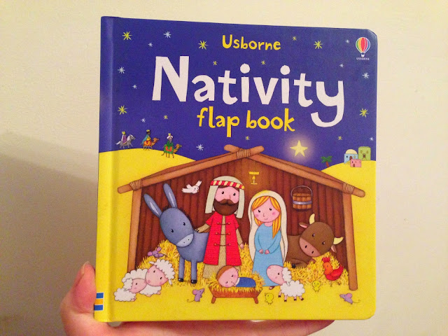 Our Christmas Book Advent tree   Ideas for the Best Children's Books to Buy this Christmas - The Nativity