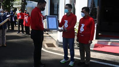 Yonif MR 411 Kostrad Terima Penghargaan Dari PMI Cabang Kota Salatiga