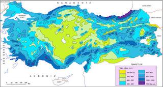 Türkiye'de Yağış ve Nemlilik