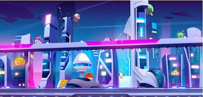 Your training is almost complete. Soon, you'll have caught 'em all. Your final challenge is to find all these pocket monsters in this futuristic cityscape and then click on the one that is NOT hiding in the picture.
