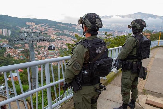 Alcaldía de Medellín destaca megaoperación contra el crimen organizado en la comuna 8