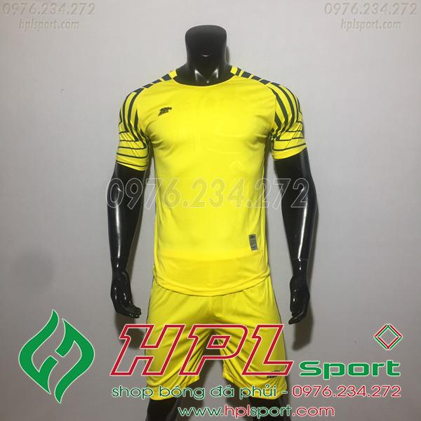 Áo bóng đá ko logo Eureka HAT VC  Màu Vàng