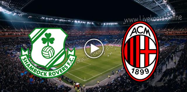 موعد مباراة ميلان وشامروك بث مباشر بتاريخ 17-09-2020 الدوري الأوروبي