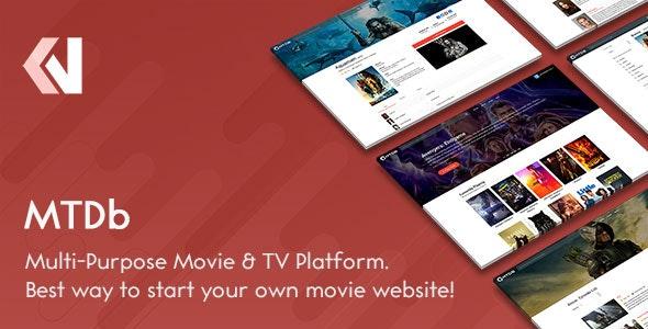 سكربت نشر و مراجعة وتقييم الافلام و المسلسلات مجانا - MTDb v3.2.0