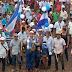 Reciben como héroe a líder campesino que estaba detenido por protestar en Nicaragua