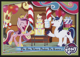 My Little Pony The One Where Pinkie Pie Knows Series 4 Trading Card