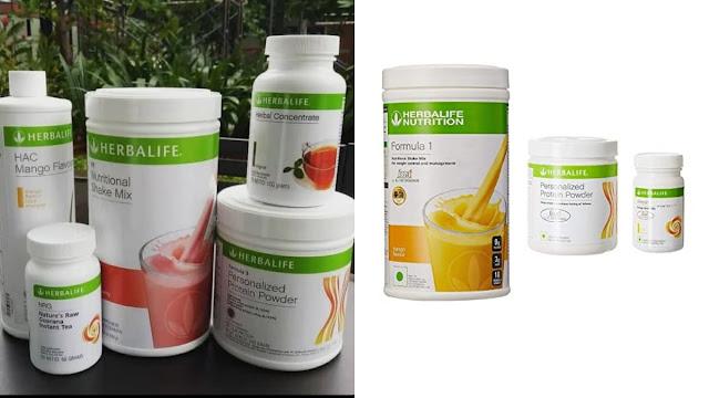 produk herbalife penurun berat badan