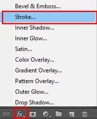 Cara Membuat Garis Tepi Dengan Stroke Di Photoshop