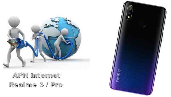 Cara Setting APN internet HP Realme 3 dan 3 Pro
