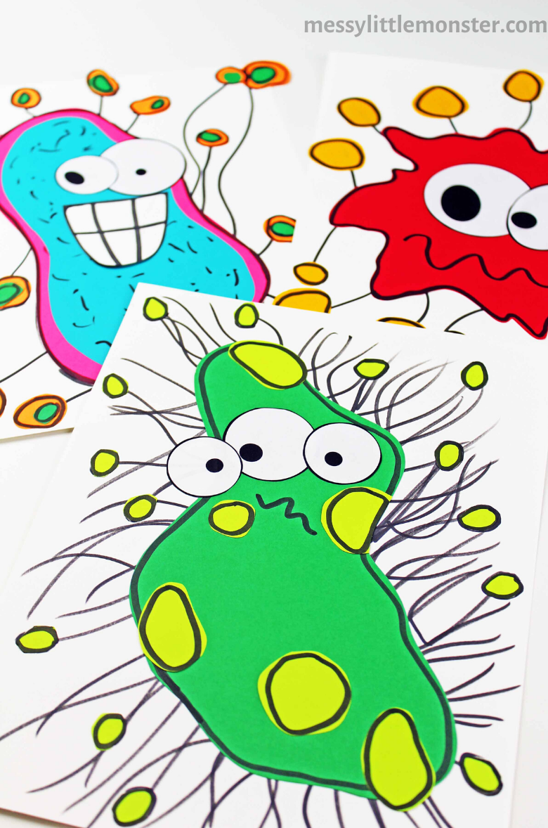 germ craft for preschoolers