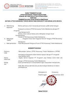 Terkait rekruitment ketenagakerjaan di PT AJS, Pimpinan YKTM akan laporkan ke Polisi