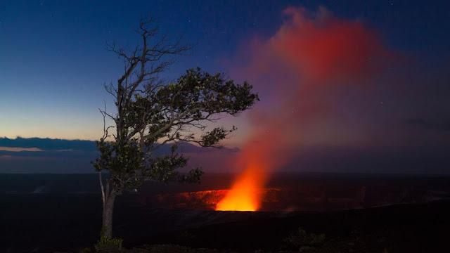 Gunung berapi aktif