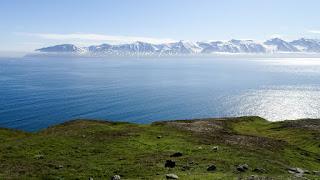Siglufjörður view from the cliff