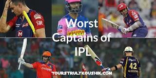 5 Worst Captains in IPL: Most Unsuccessful Captains in IPL