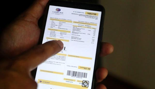 Bono de electricidad cubrirá pagos de recibos de luz desde marzo
