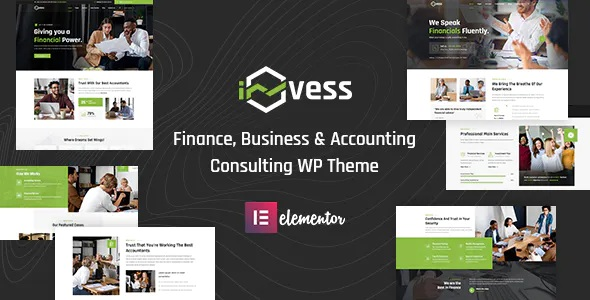 Best Accounting & Finance Consulting WordPress Theme