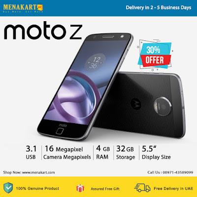 Motorola Moto Z Dual SIM - 32GB, 4GB RAM
