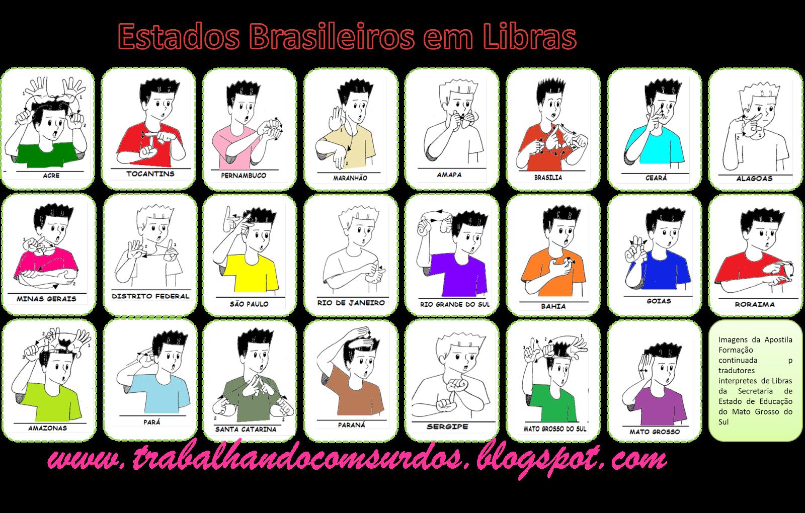 brasileiro em libras tweet marcadores estados brasileiro em libras #C70465 1600 1020