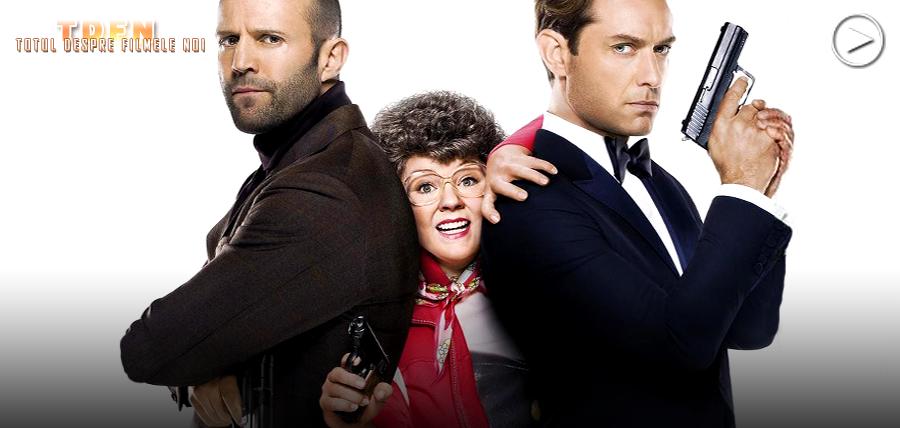 Melissa Mccarthy, Jude Law şi Jason Statham în noul trailer pentru super-comedia Spy