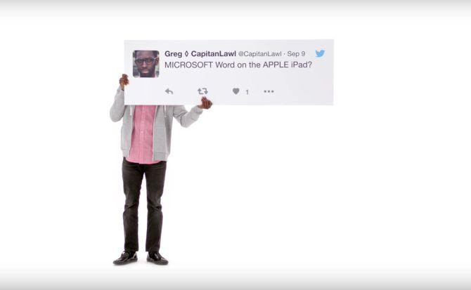 Twitter es el protagonista de la nueva campaña de Apple