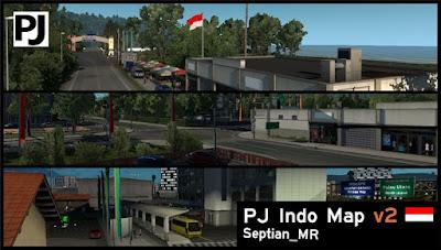 PJ Indo Map v2.65 - ETS2 1.35