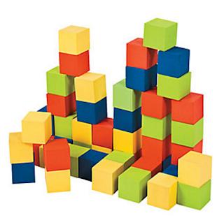 oriental trading foam blocks