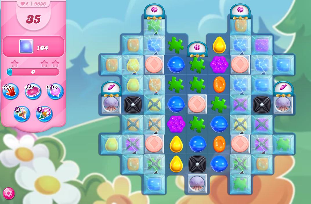 Candy Crush Saga level 9626