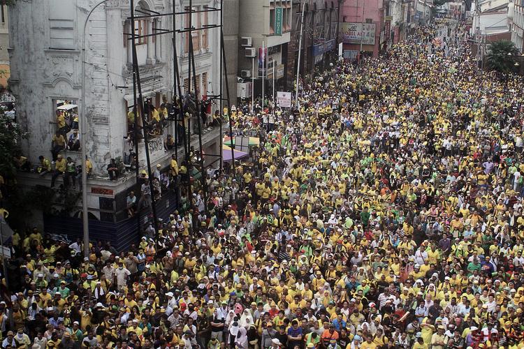 Bukan Hanya Hong Kong , Berikut 5 Unjuk Rasa Besar dan Bersejarah di Asia :Termasuk Indonesia