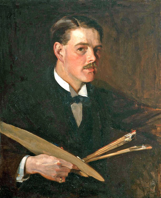 Philip Wilson Steer, International Art Gallery, Self Portrait, Art Gallery, Wilson Steer, Portraits of Painters, Fine arts, Self-Portraits, Painter Philip Wilson Steer