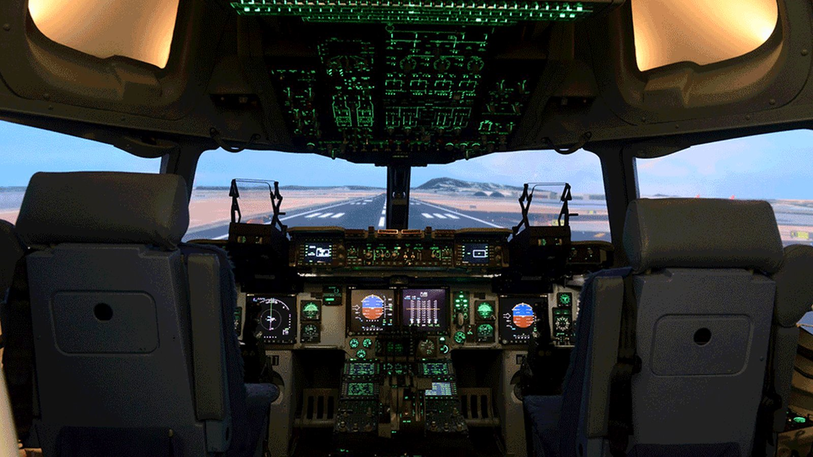 Mahindra Defense Boeing C-17 Flight Simulator - Indian Air Force - 01