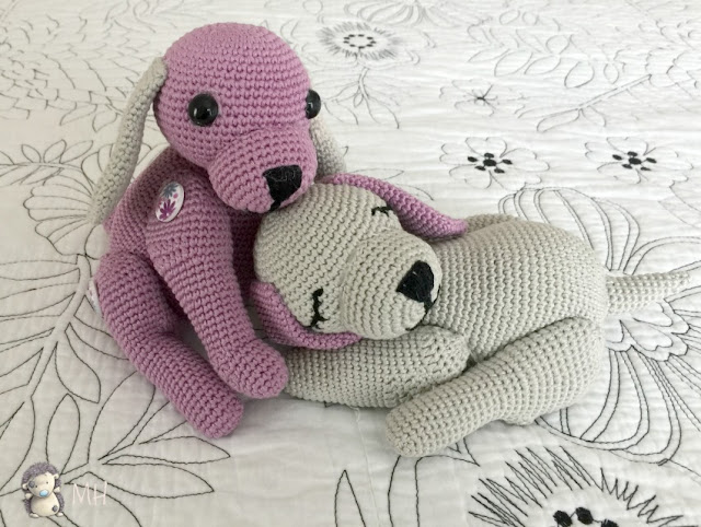 Perritos Puppy love amigurumi