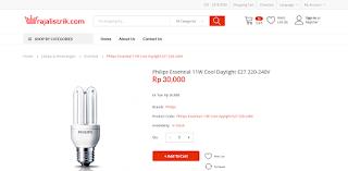 Rajalistrik.com - Lampu philips untuk rumahan