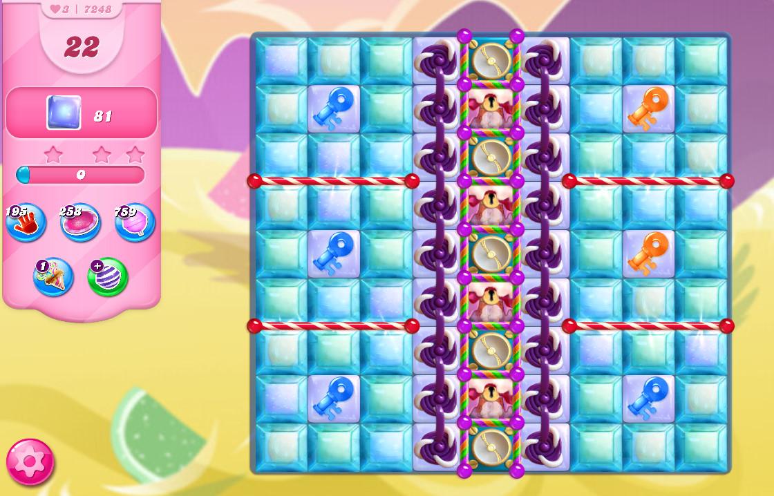Candy Crush Saga level 7248
