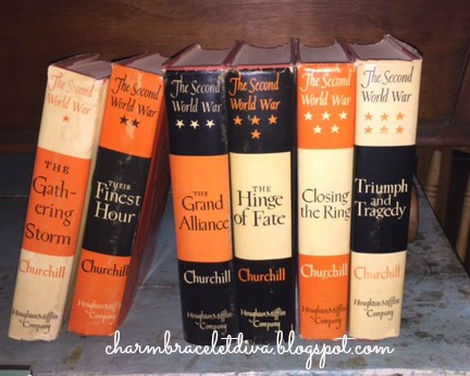 vintage Winston Churchill six book set