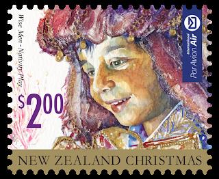 Nueva Zelanda - Navidad 2014 - Valor 2.00 NZD - Autoadhesivo