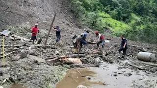 Landslides caused by rain in Nepal, 38 killed, 51 injured in floods