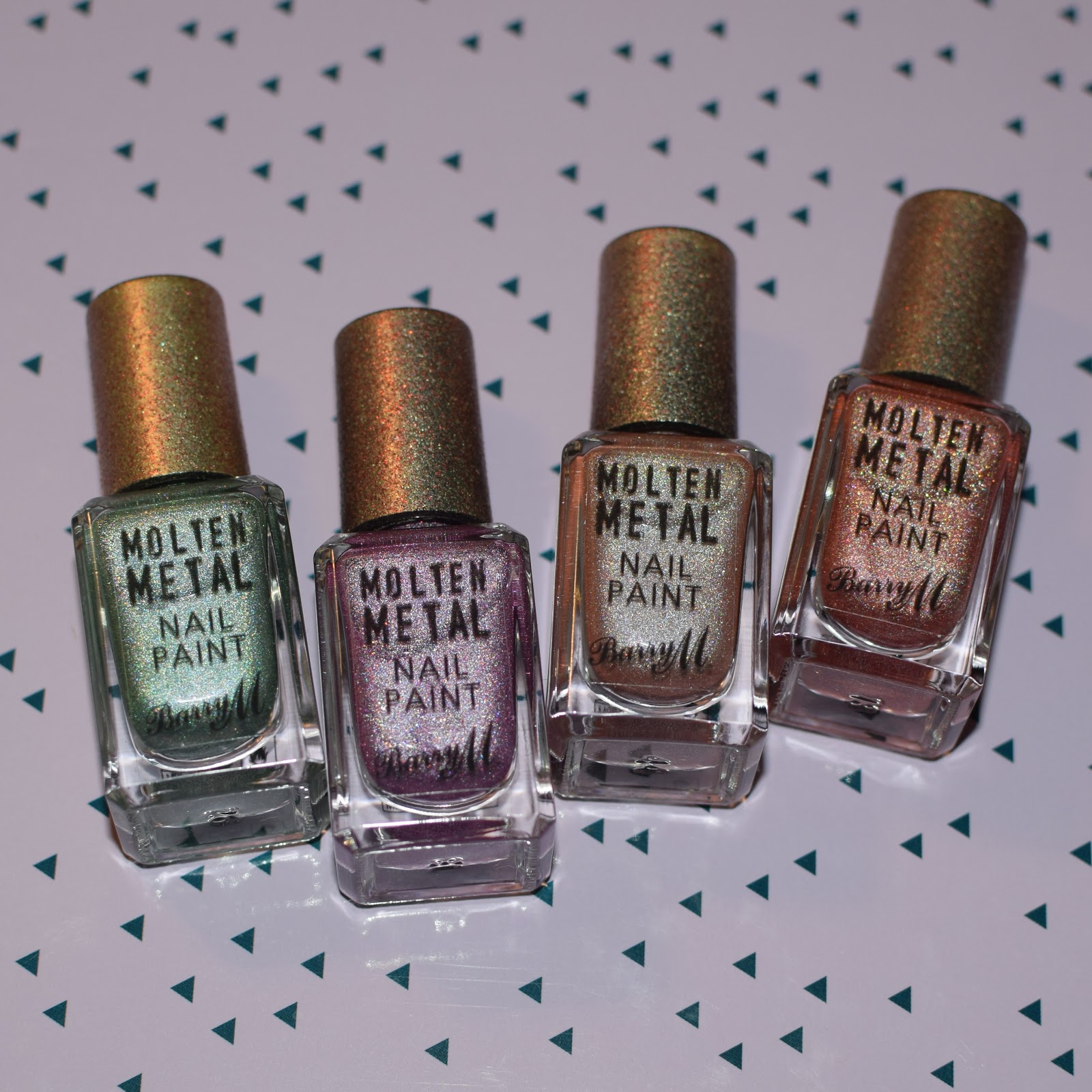 Four New Molten Metal Polishes // Swatch & Review | Nimy Nails