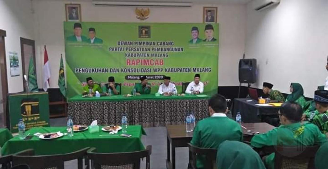 Gelar Rapimcab, PPP Kabupaten Malang Mantapkan Dukungan ke Paslon SANDI