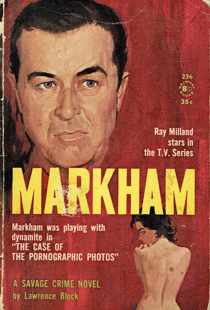 Lawrence Block Markham Cover