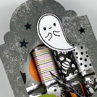 Stampin' Up! Cute Halloween Tombstone Treat Box ~ July-December 2021 Mini Catalog ~ www.juliedavison.com #stampinup